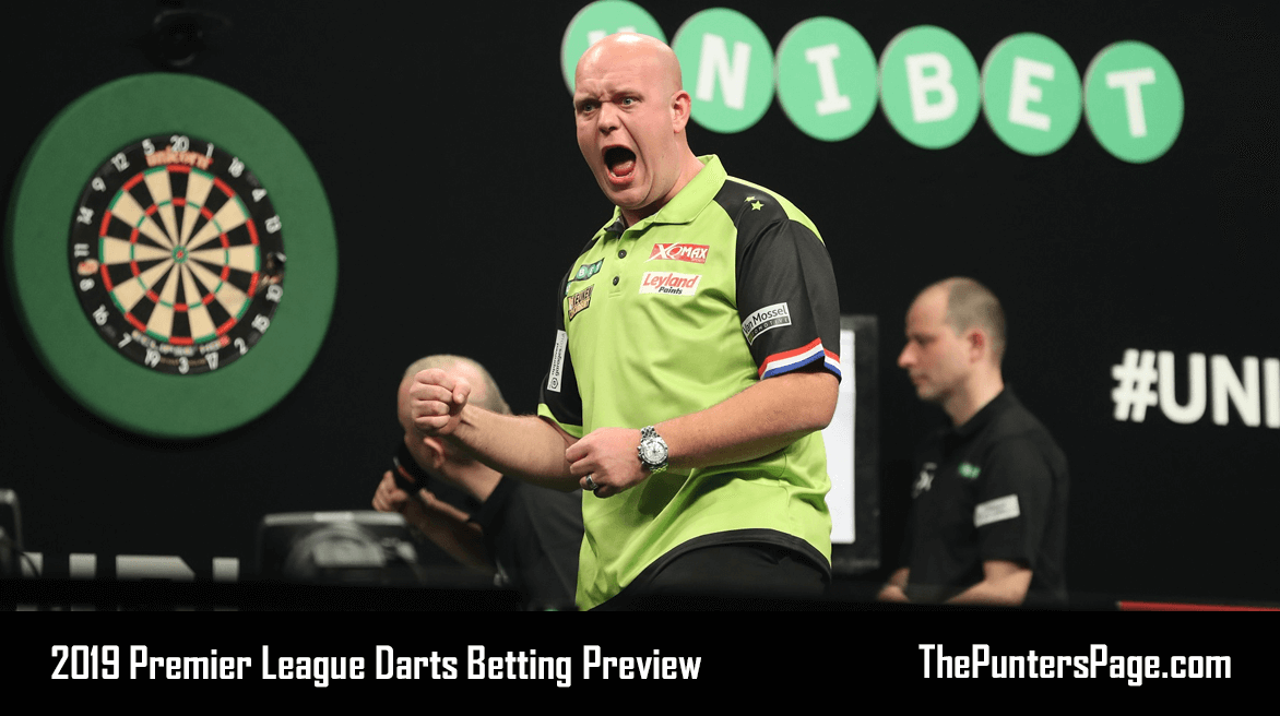 2019 Premier League Darts Betting Preview, Odds & Tips