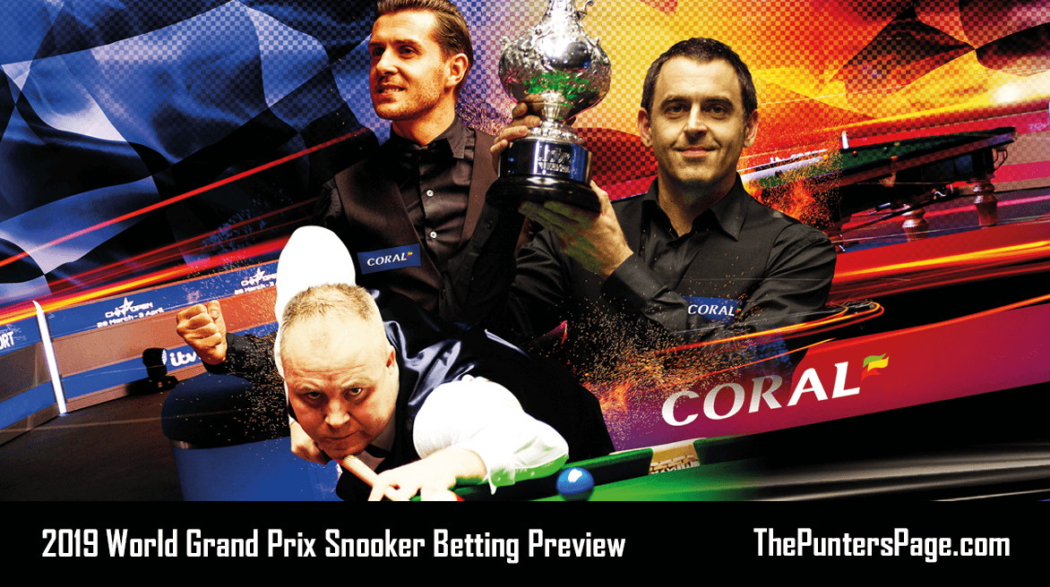 2019 World Grand Prix Snooker Outright Betting Preview & Tips