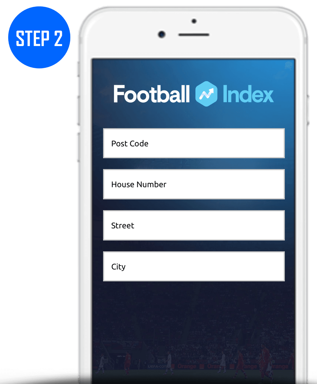 Football Index Sign Up Process Step 2