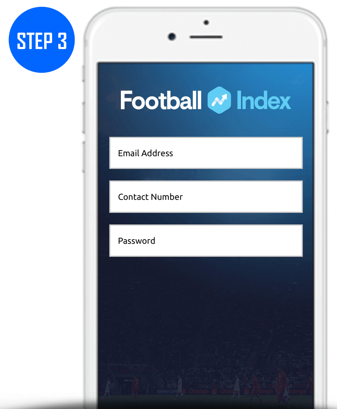Football Index Sign Up Process Step 3