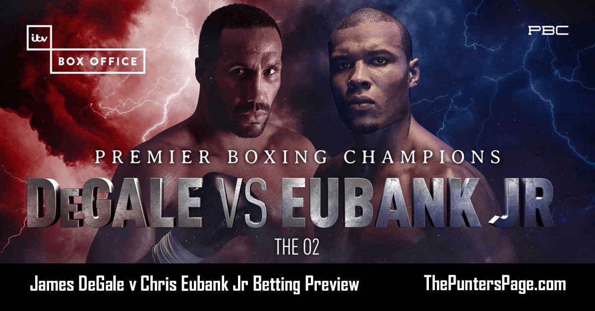 James Degale v Chris Eubank Jr Betting Preview, Odds & Tips