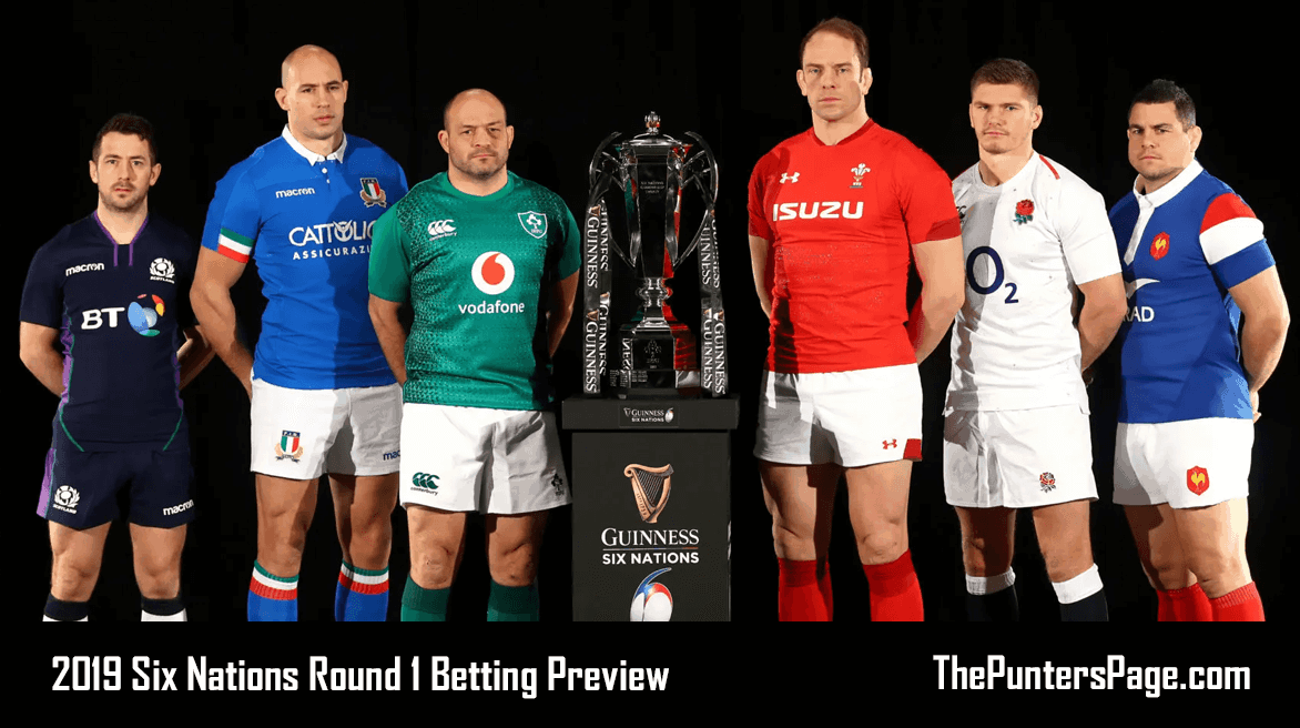 Six Nations Round 1 Betting Preview, Odds & Tips