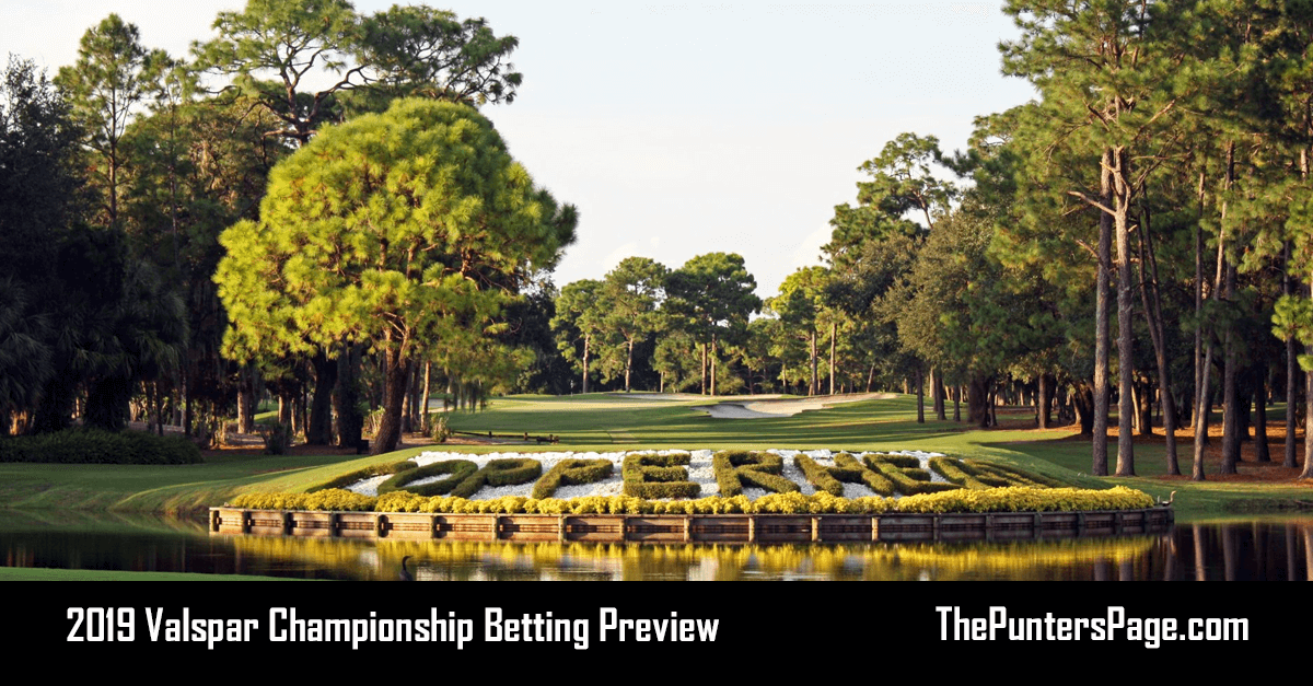 2019 Valspar Championship Betting Preview, Odds & Tips
