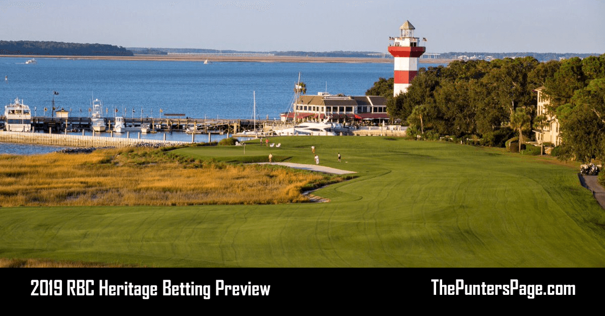 2019 RBC Heritage Betting Preview, Odds & Tips