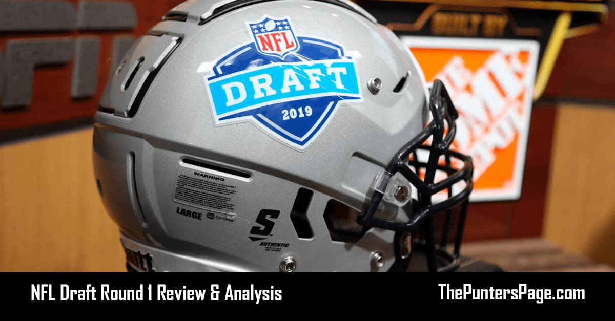 NFL Draft Round 1 Review & Analysis