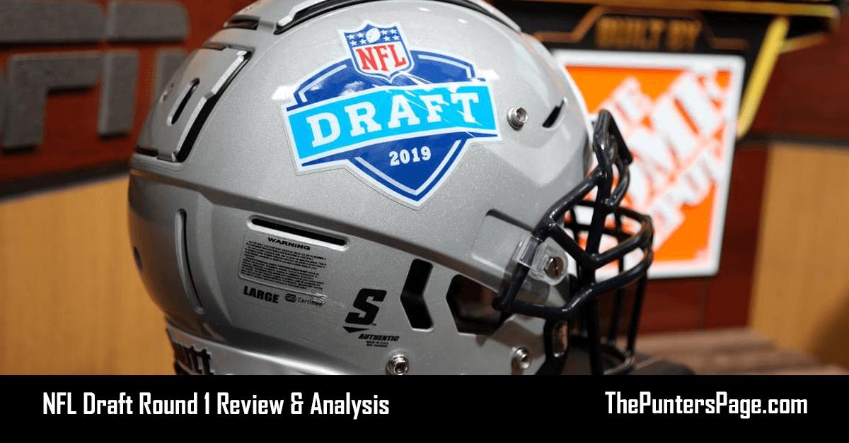 NFL Draft Round 1 Review & Analysis