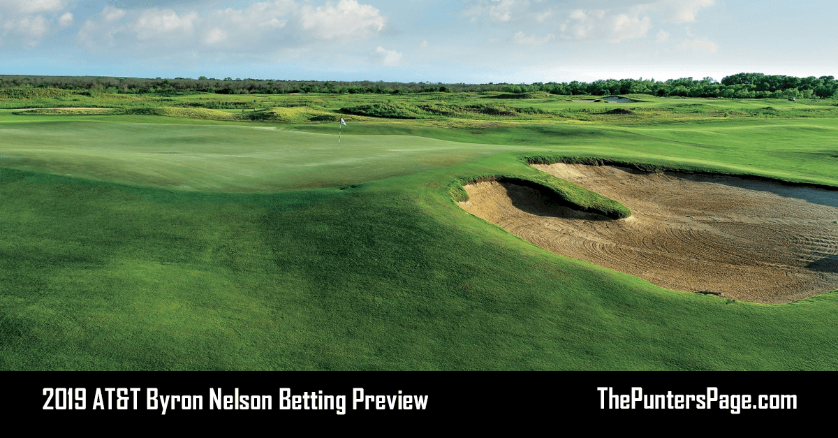 2019 AT&T Byron Nelson Betting Preview Odds & Tips