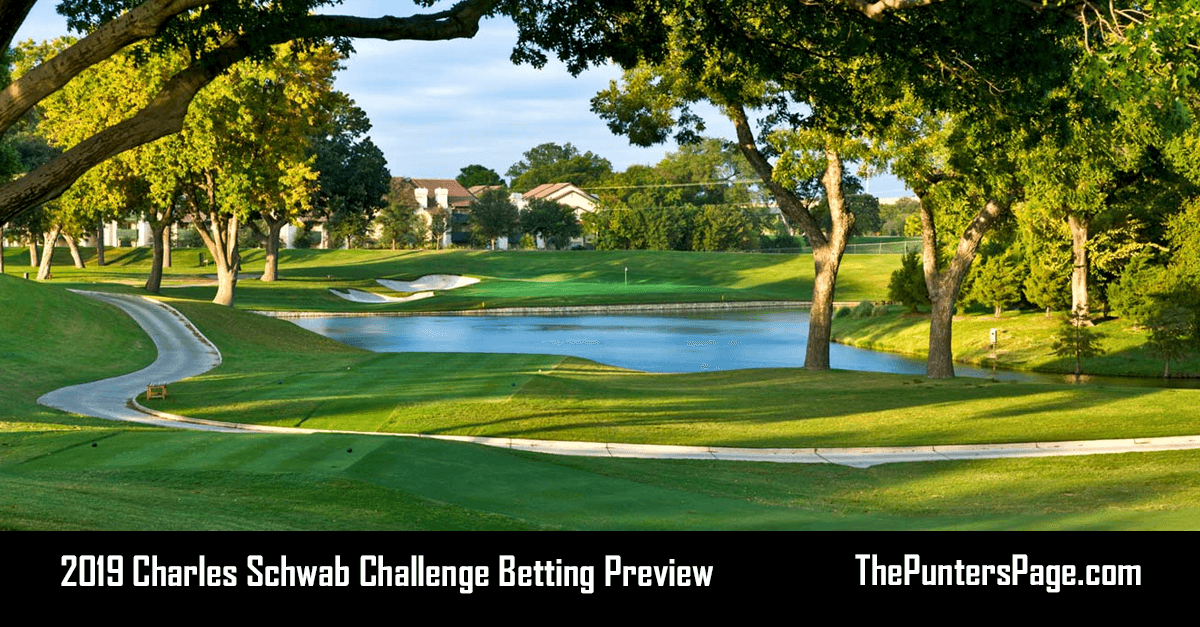2019 Charles Schwab Challenge Betting Preview, Odds & Tips