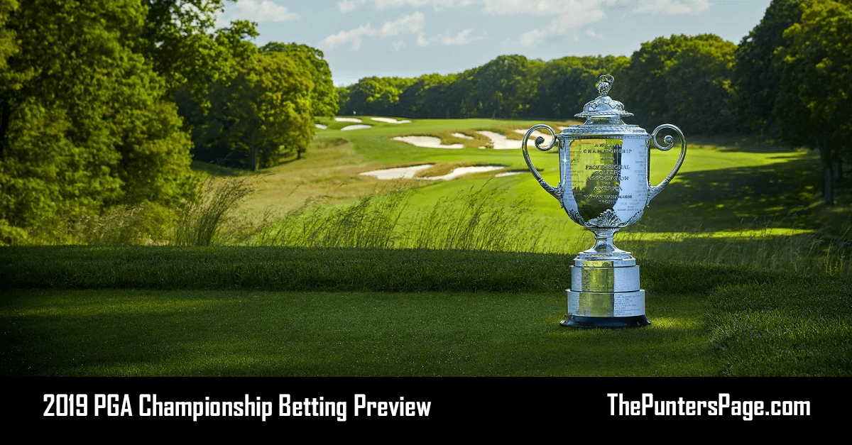 2019 PGA Championship Betting Preview, Odds & Tips