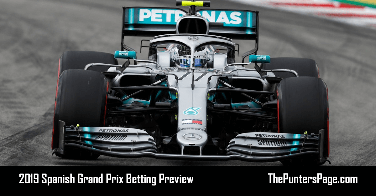 2019 Spanish Grand Prix Betting Preview, Odds & Tips