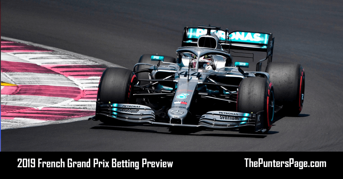 2019 French Grand Prix Betting Preview, Odds & Tips