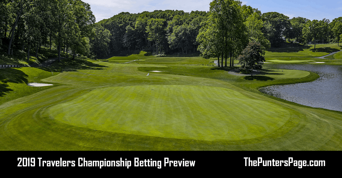 2019 Travelers Championship Betting Preview Odds & Tips