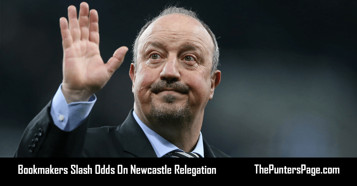 Bookmakers Slash Odds On Newcastle Relegation