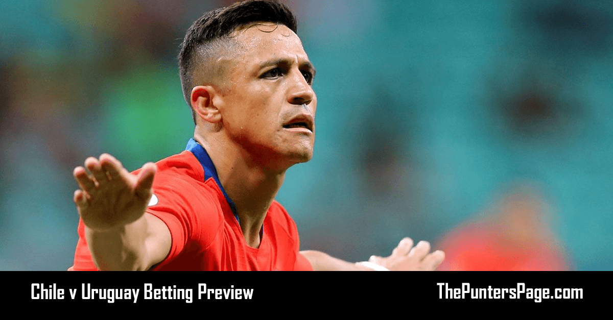 Chile v Uruguay Betting Preview, Odds & Tips