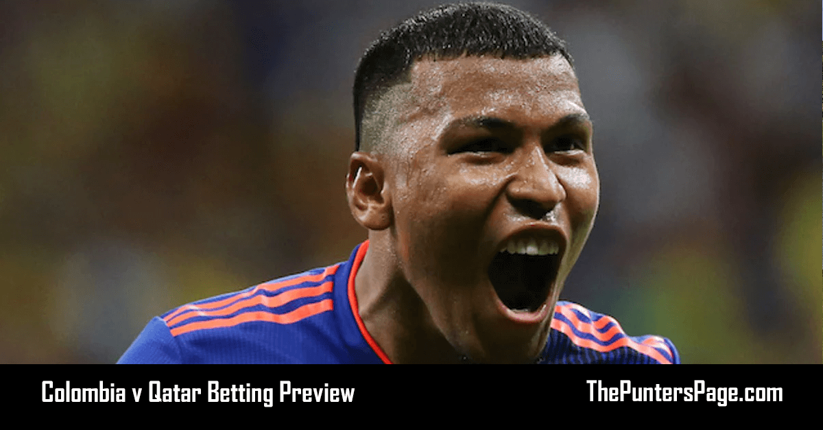 Colombia v Qatar Betting Preview, Odds & Tips