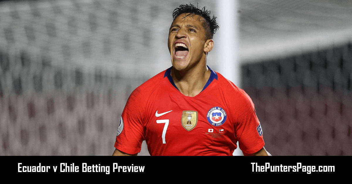 Ecuador v Chile Betting Preview, Odds & Tips