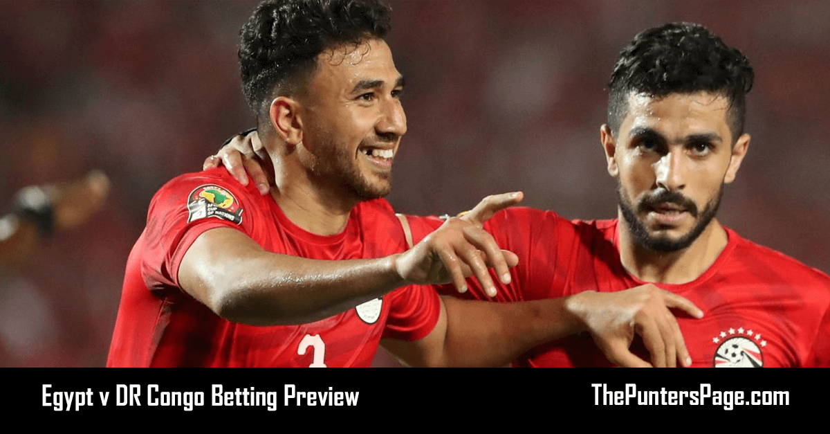 Egypt v DR Congo Betting Preview, Odds & Tips