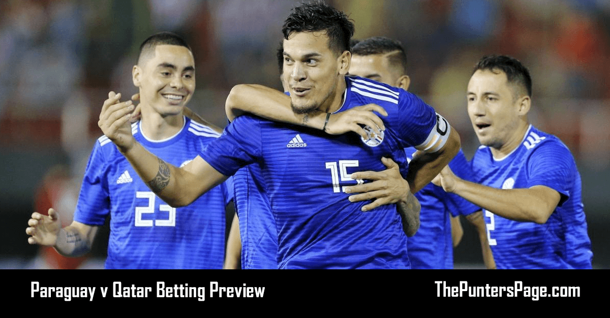 Paraguay v Qatar Betting Preview, Odds & Tips