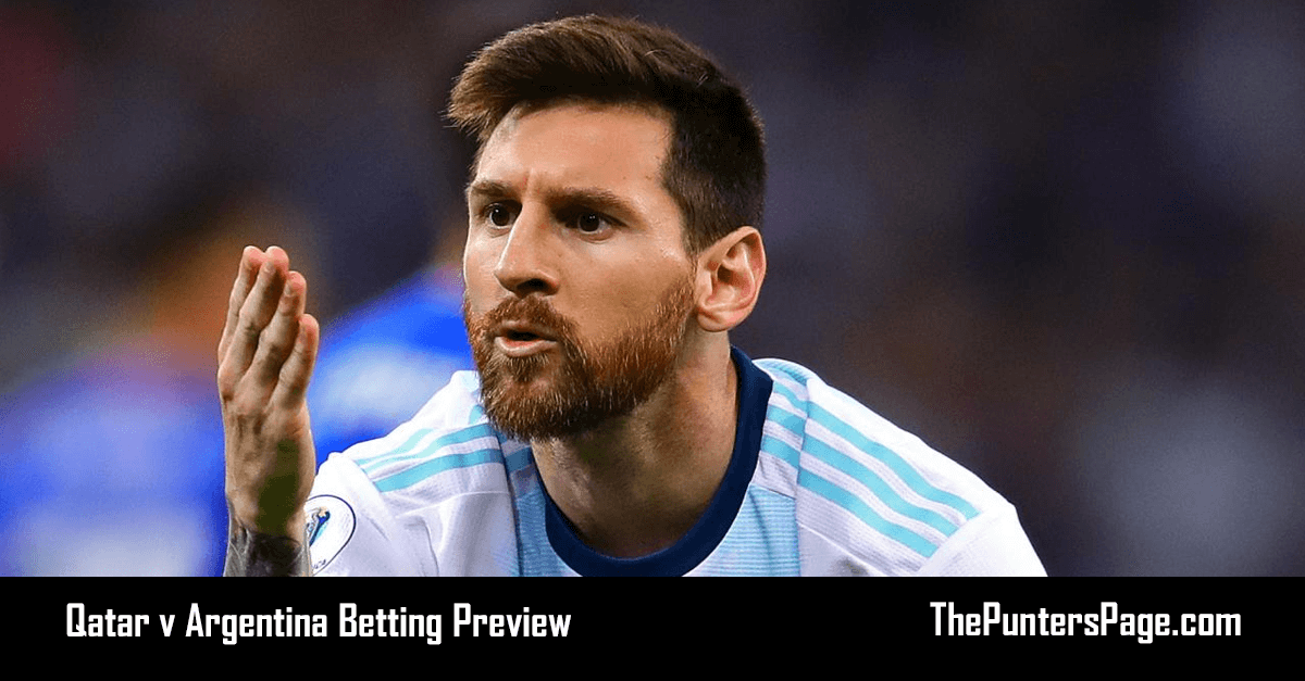 Qatar v Argentina Betting Preview, Odds & Tips