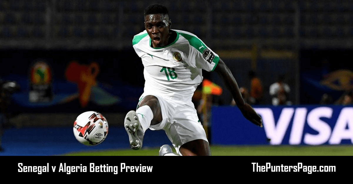 Senegal v Algeria Betting Preview, Odds & Tips