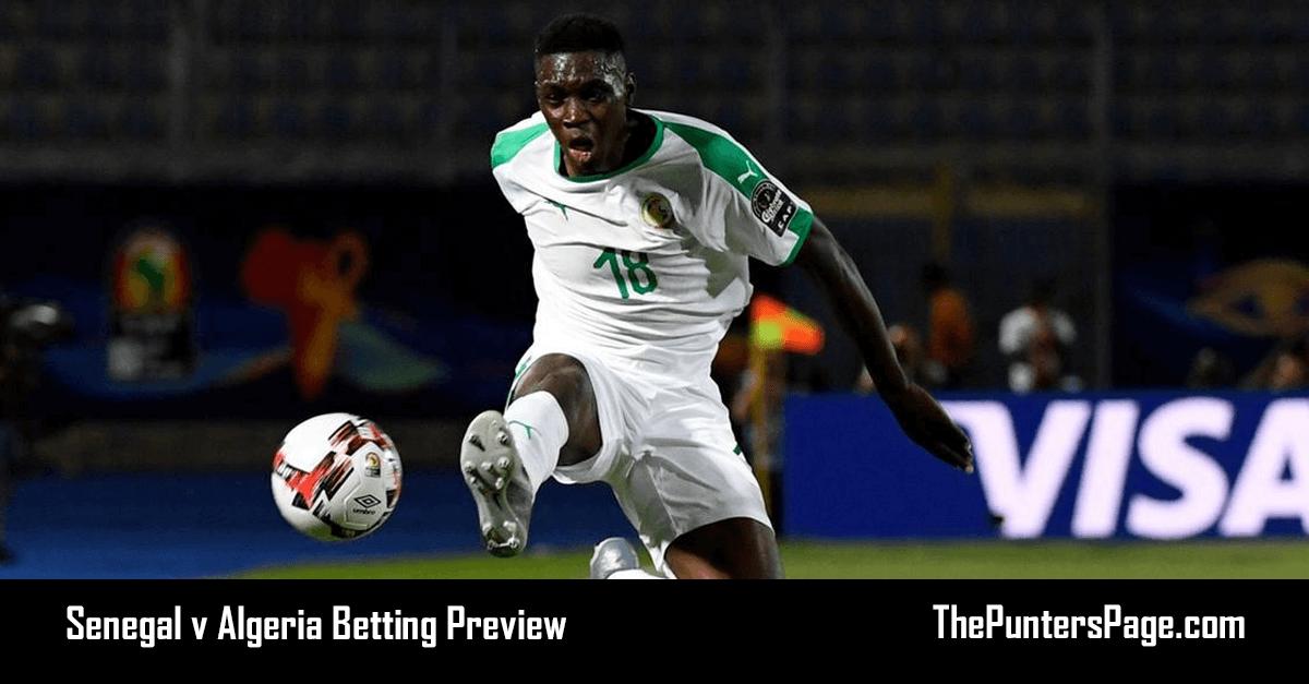 Senegal v Algeria Betting Preview, Odds & Tips