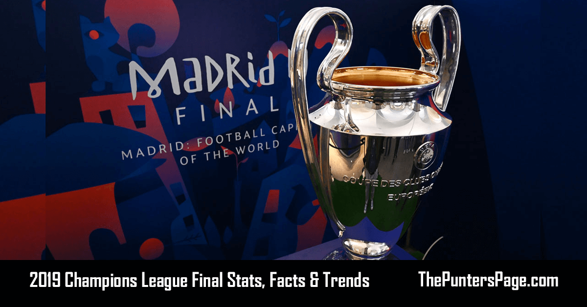 Tottenham v Liverpool Champions League Final Stats, Facts & Trends