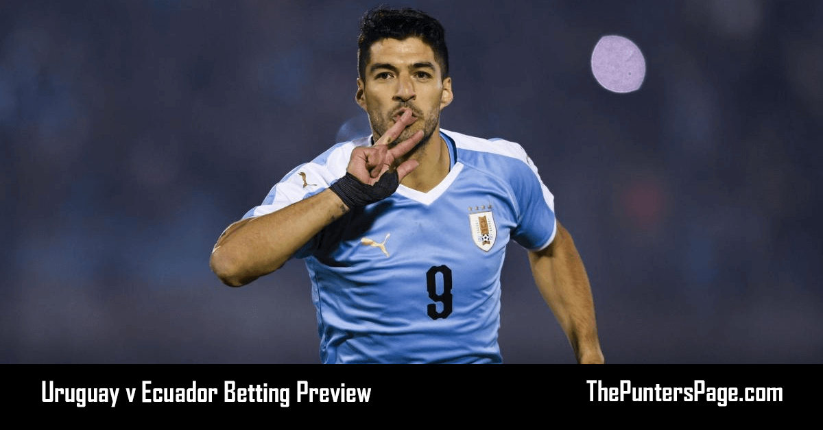 Uruguay v Ecuador Betting Preview, Odds & Tips
