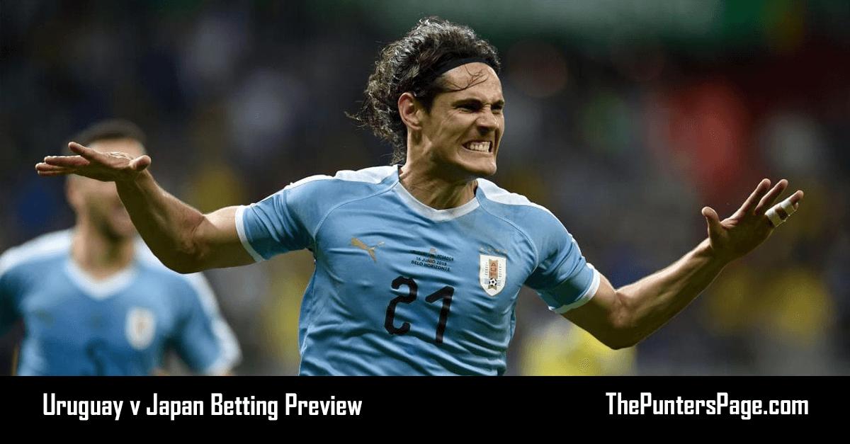 Uruguay v Japan Betting Preview, Odds & Tips