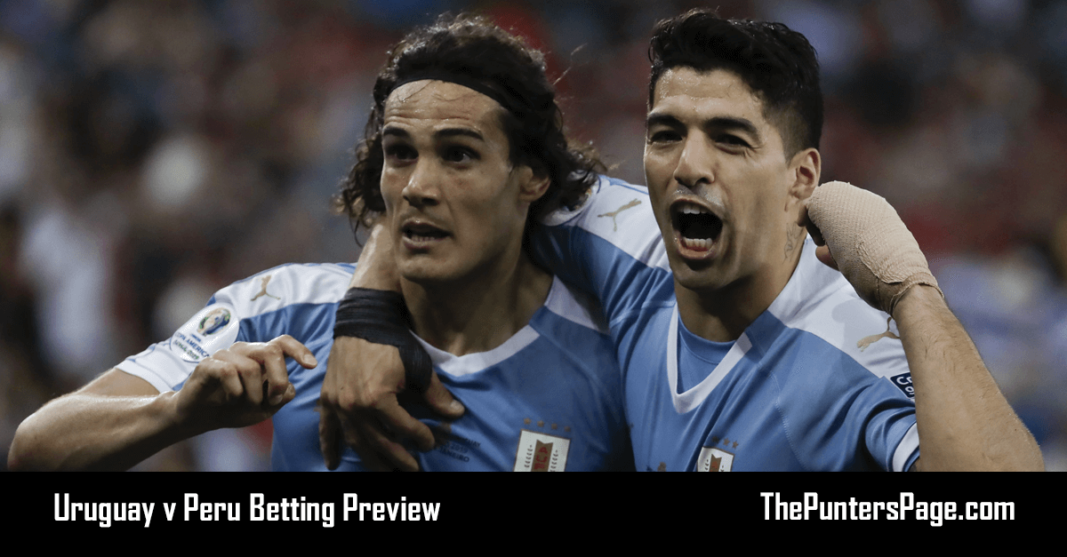 Uruguay v Peru Betting Preview, Odds & Tips