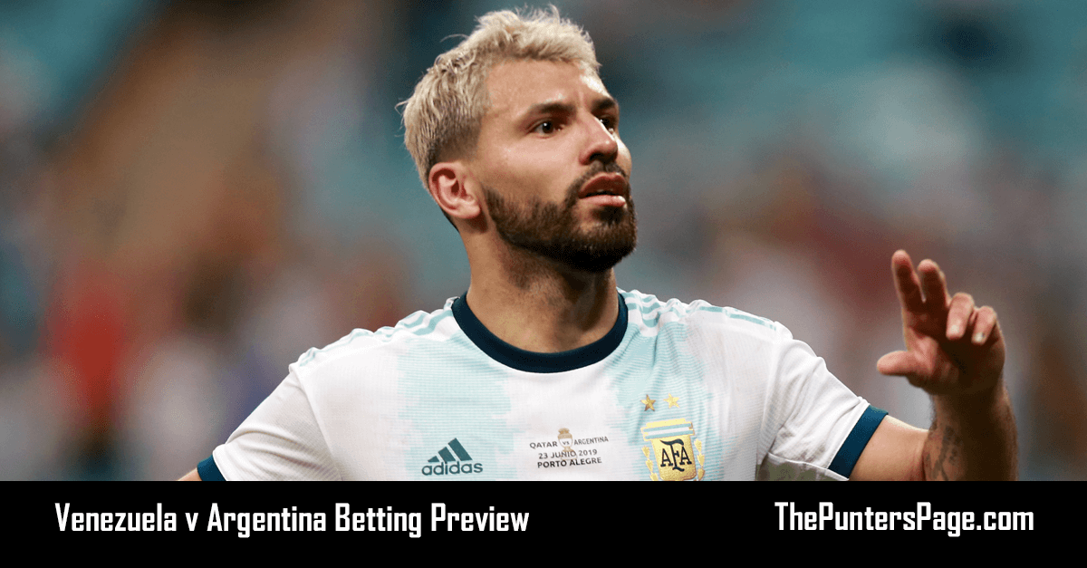 Venezuela v Argentina Betting Preview, Odds & Tips