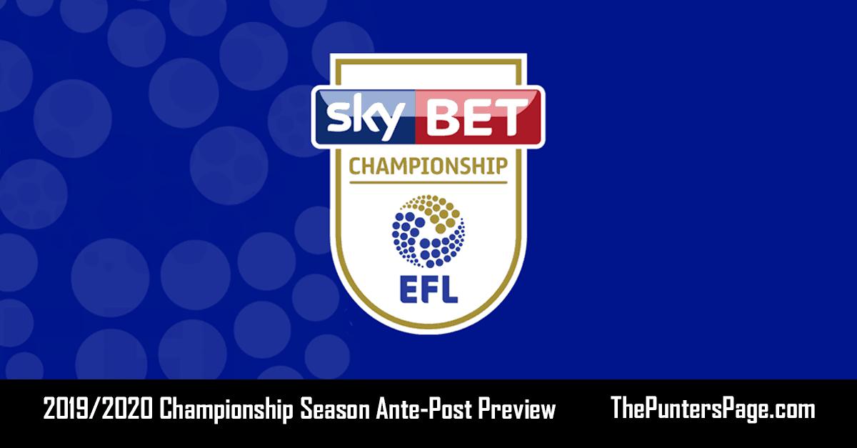 2019-2020 Championship Season Betting Preview & Tips
