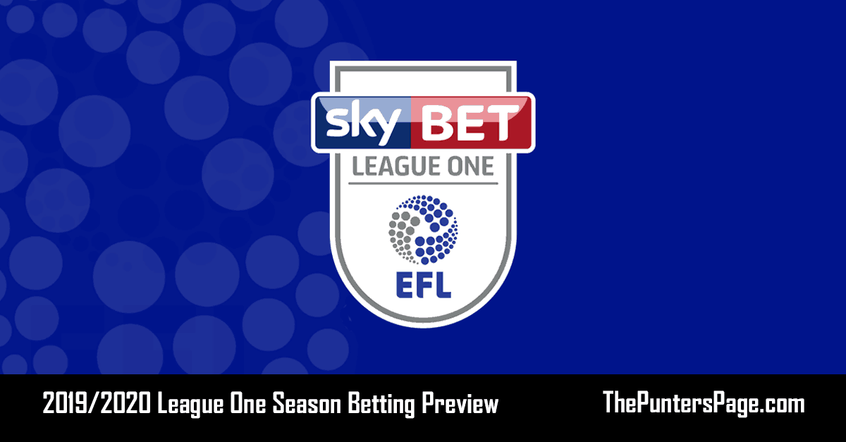 2019-2020 League One Season Betting Preview & Tips