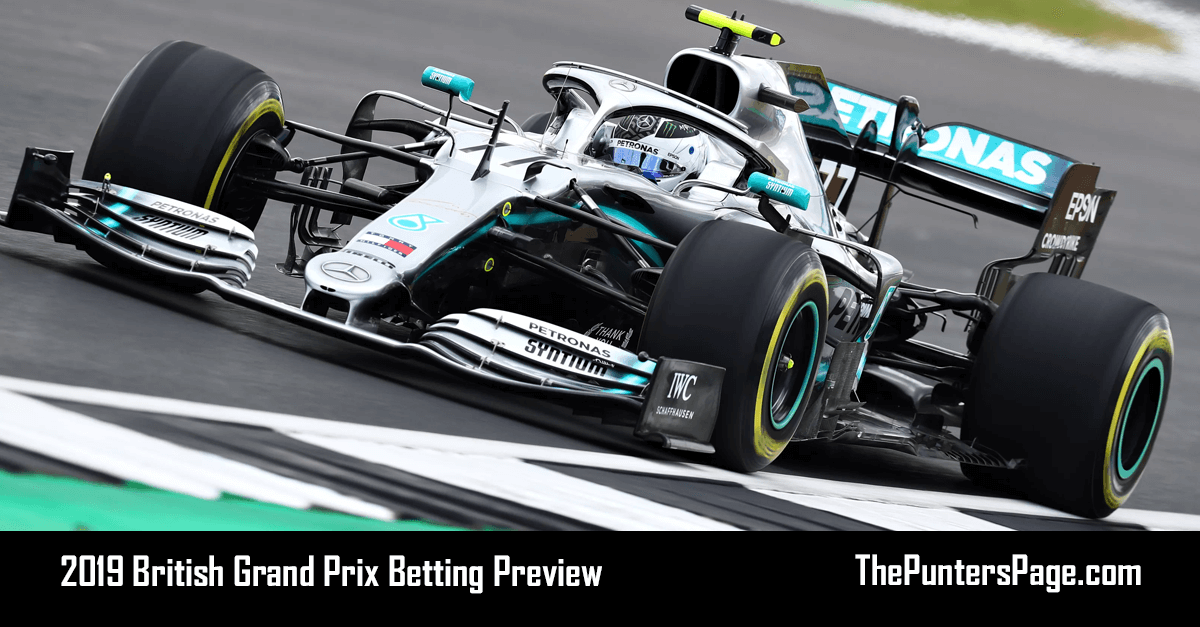 2019 British Grand Prix Betting Preview, Odds & Tips