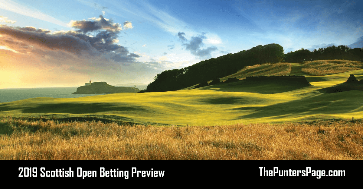 2019 Scottish Open Betting Preview, Odds & Tips