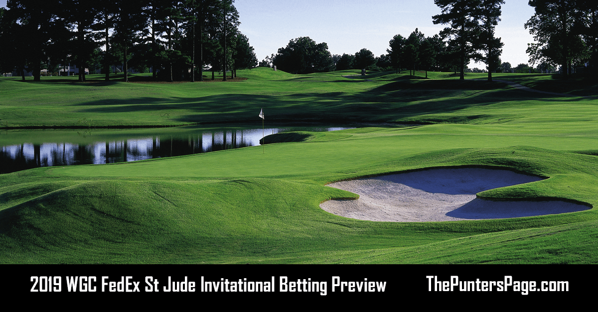 2019 WGC FedEx St Jude Invitational Betting Preview