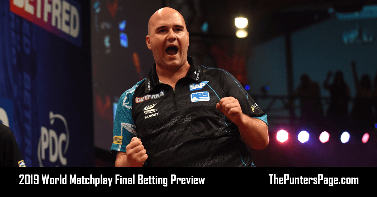 2019 World Matchplay Final Betting Preview & Tips