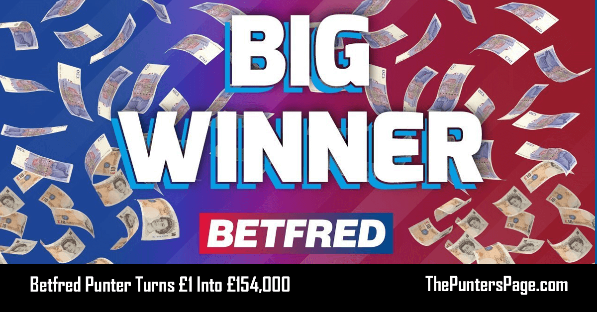 Betfred Punter Turns £1 Into £154,000 On Racing 8-Fold
