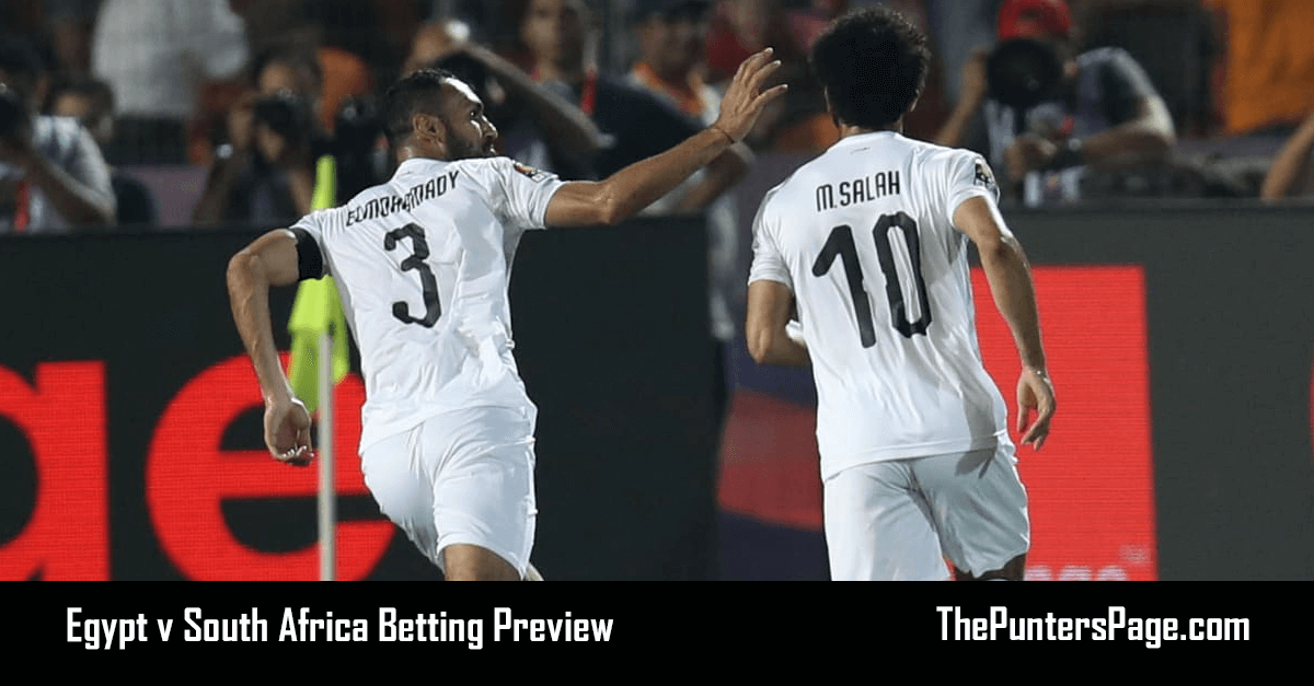 Egypt v South Africa Betting Preview, Odds & Tips