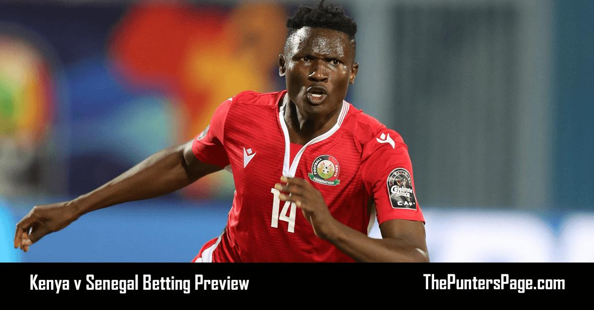 Kenya v Senegal Betting Preview, Odds & Tips