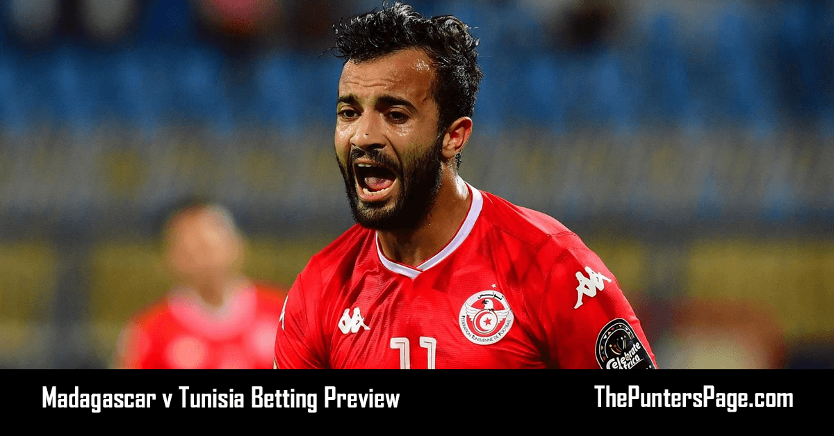 Madagascar v Tunisia Betting Preview, Odds & Tip