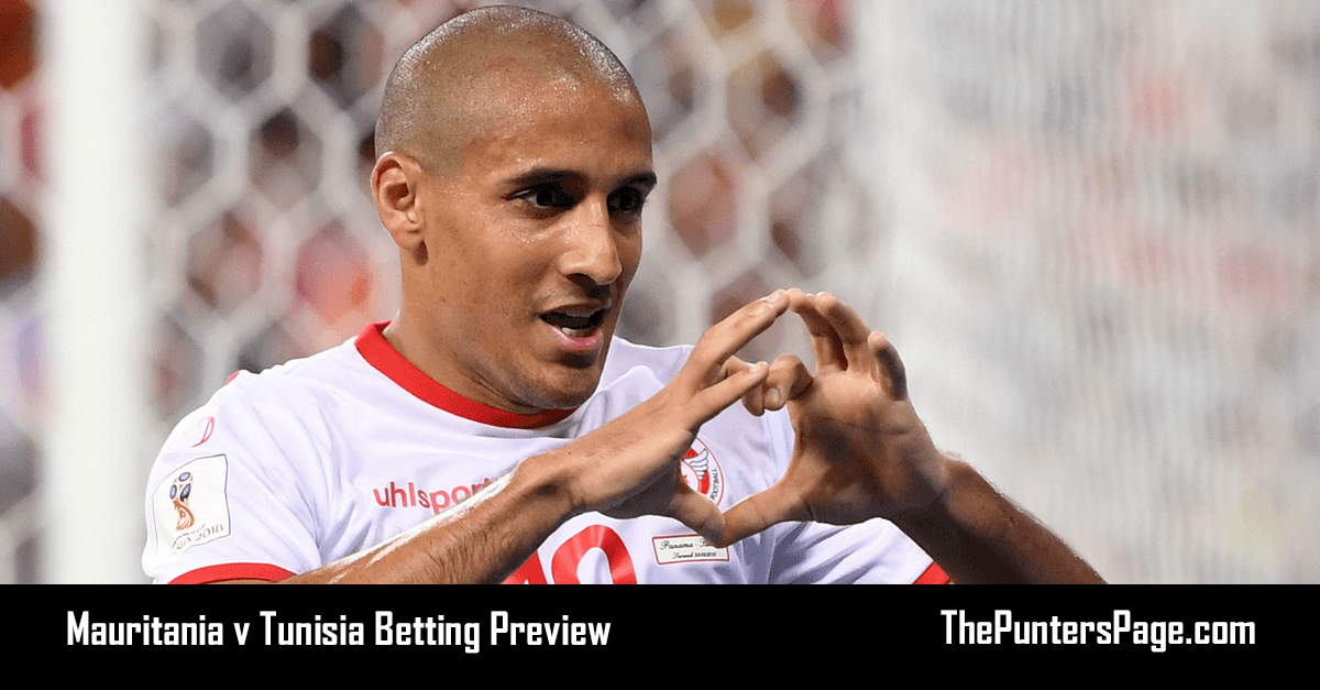 Mauritania v Tunisia Betting Preview, Odds & Tips