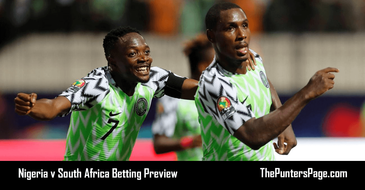 Nigeria v South Africa Betting Preview, Odds & Tips | 10/07