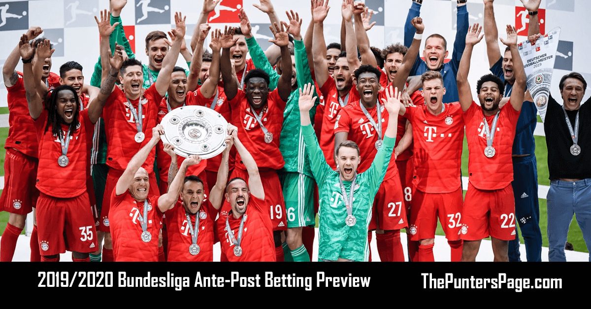 2019-2020 Bundesliga Ante-Post Betting Preview, Odds & Tips