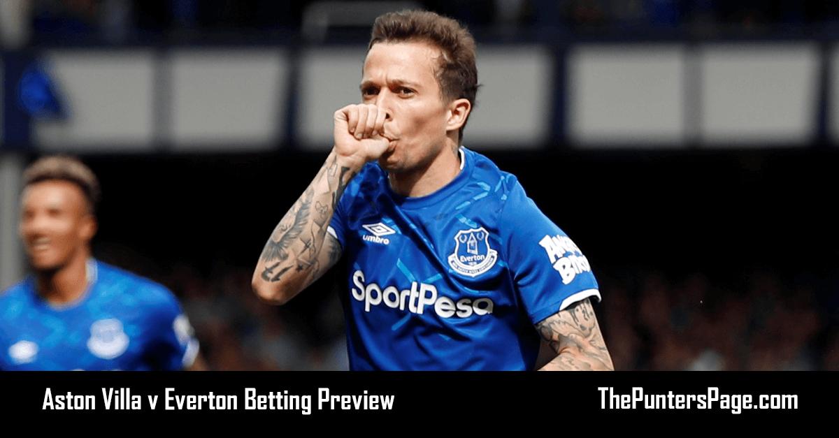 Aston Villa v Everton Betting Preview, Odds & Tips