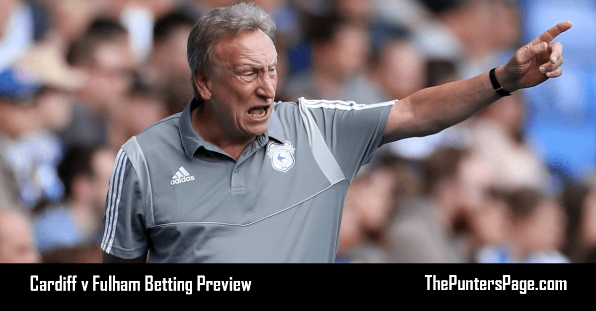 Cardiff v Fulham Betting Preview, Odds & Tips