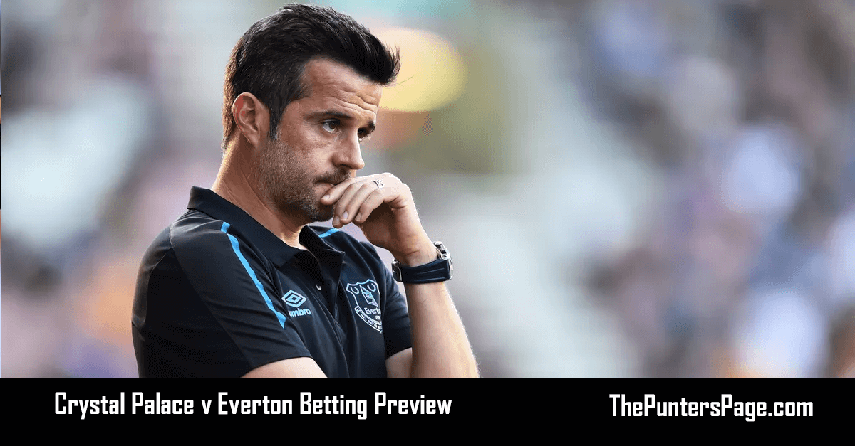 Crystal Palace v Everton Betting Preview, Odds & Tips