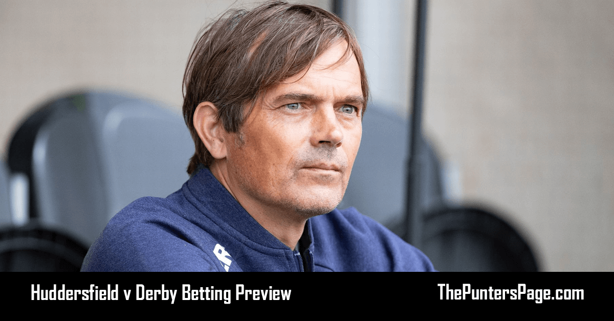 Huddersfield v Derby Betting Preview, Odds & Tips
