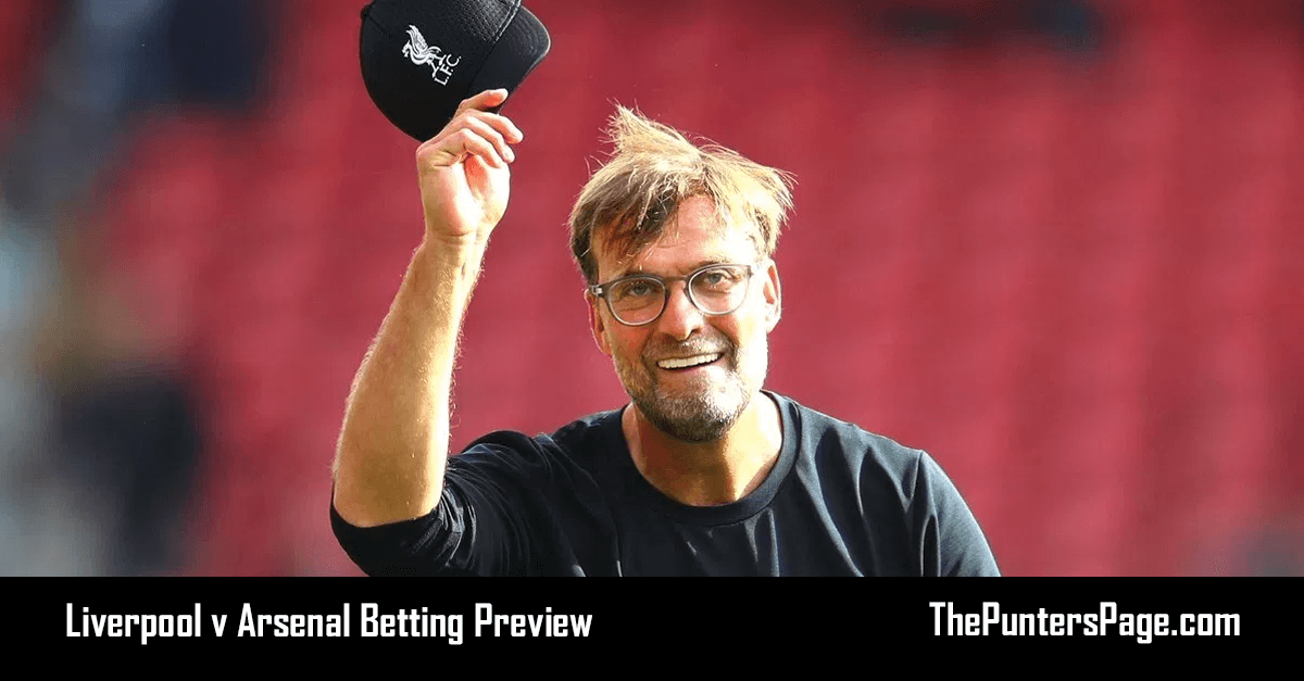 Liverpool v Arsenal Betting Preview, Odds & Tips