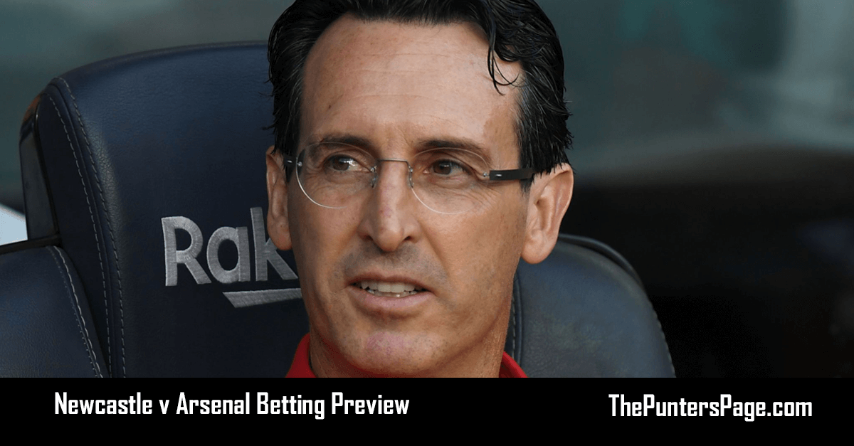 Newcastle v Arsenal Betting Preview, Odds & Tips