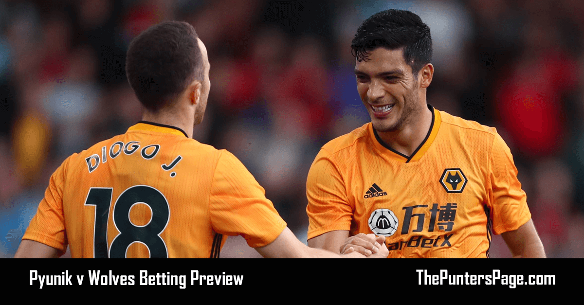Pyunik v Wolves Betting Preview, Odds & Tips